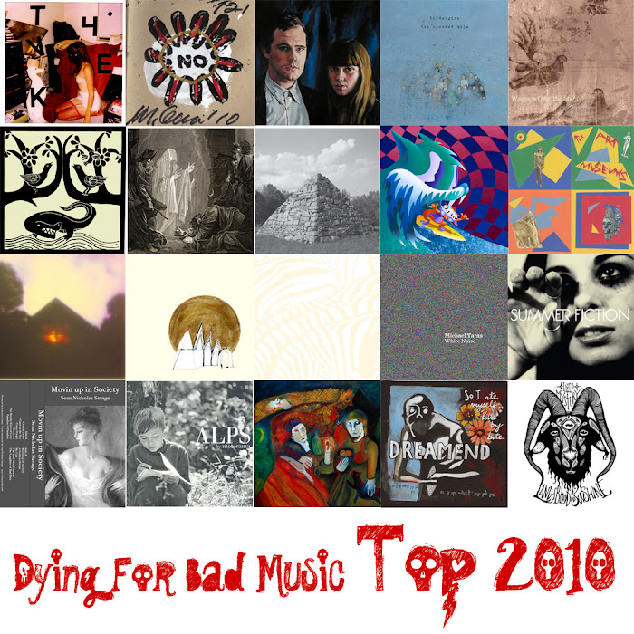 TOP 20 - 2010 at dying for bad music blog