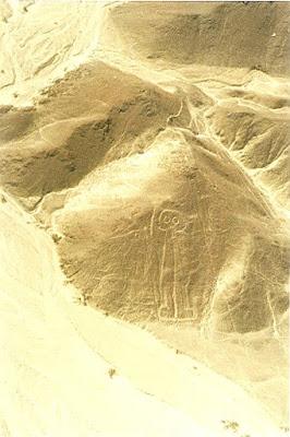 Imagini Peru: Astronautul la Nazca