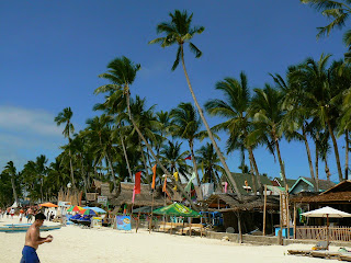 Obiective turistice Filipine: White Beach Boracay