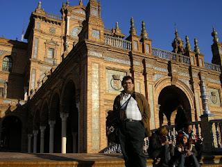Obiective turistice Sevilla: Plaza Espana