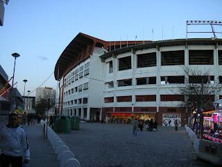 Obiective turistice Sevilla: stadionul Ramon Sanchez Pizjuan