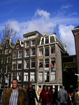 Imagini Olanda: petrecere in Amsterdam