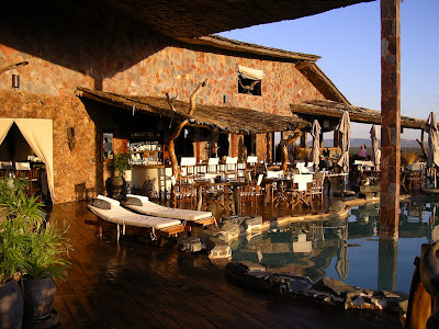 Cazare safari Serengeti: Mbalangeti Lodge