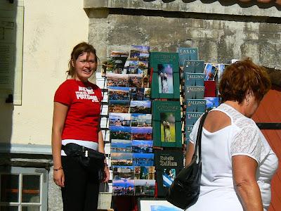 Obiective turistice Estonia: orasul vechi Talinn, consultant de vederi