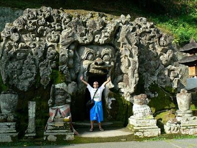 Imagini Indonezia: Goa Gajah