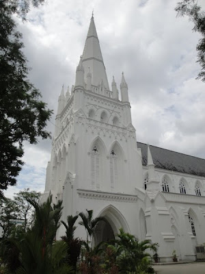 Singapore istoric: catedrala din oras