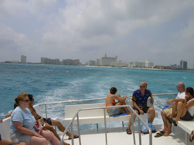 Plecarea din Cancun