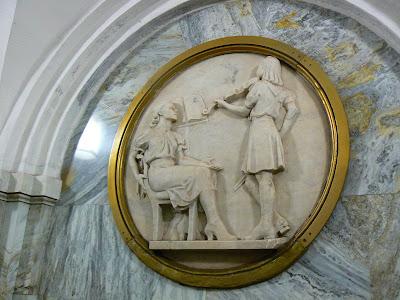Obiective turistice Moscova: statia metro Park Kulturi