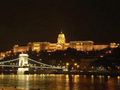 Buda Palace by night