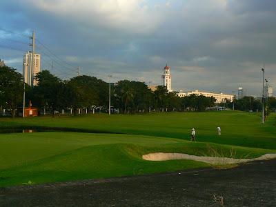 Sport Filipine: teren de golf in Manila
