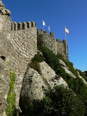 Obiective turistice Portugalia: Castelul Maurilor Sintra
