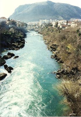 Imagini Mostar: raul Neretva