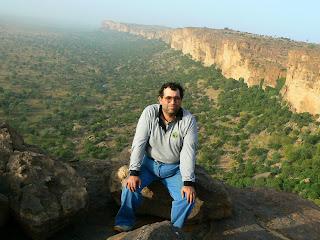 Imagini Mali: panorama Pays Dogon