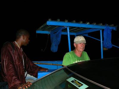 Cu Frank pe ferry spre Djenne