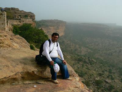 Obiective turistice Mali: pe escarpement Pays Dogon