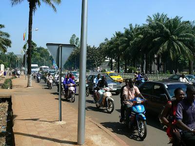 Imagini Mali: trafic Bamako