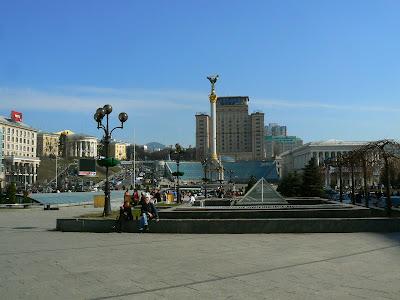 Imagini Ucraina: Piata Independentei Kiev