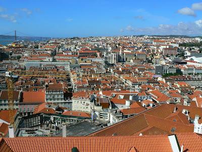 Imagini Portugalia: panorama Lisabona Baixa