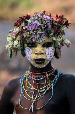 fată etiopiană)
