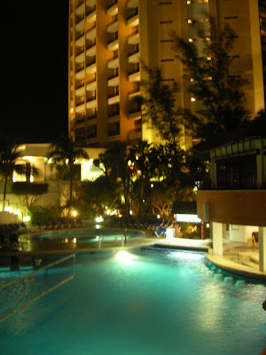 Cazare Mexic: hotel Hyatt Cancun noaptea