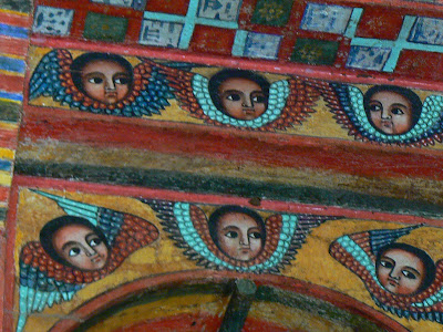 Imagini Etiopia: Narga Sellasie, lacul Tana heruvimi