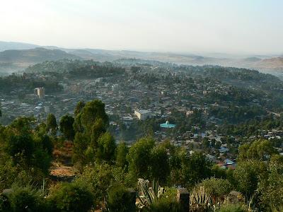 Imagini Etiopia: panorama Gonder