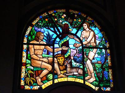 Imagini Etiopia: Catedrala Sf. Treime Addis Ababa, Adam si Eva