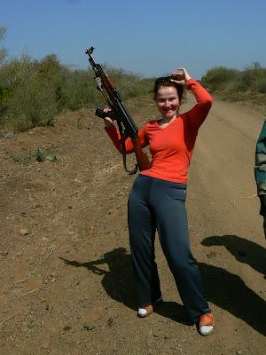 Imagini Etiopia: Kalashnikov