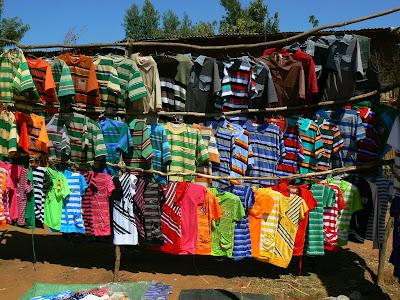 Imagini Etiopia: targul din Key Afer