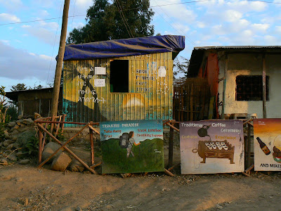 Imagini Etiopia: internet cafe in Debark
