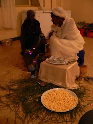 Imagini Etiopia: ceremonia cafelei Debark