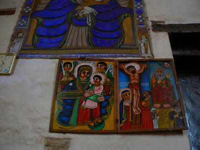 Imagini Etiopia: Sf. Maria din Sion, Aksum, pcituri religioase