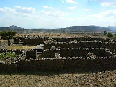 Imagini Etiopia: Palatul reginei din Saba Aksum