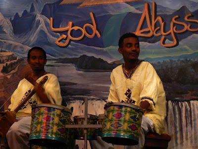 Imagini Etiopia: spectacol folcloric in Addis Ababa