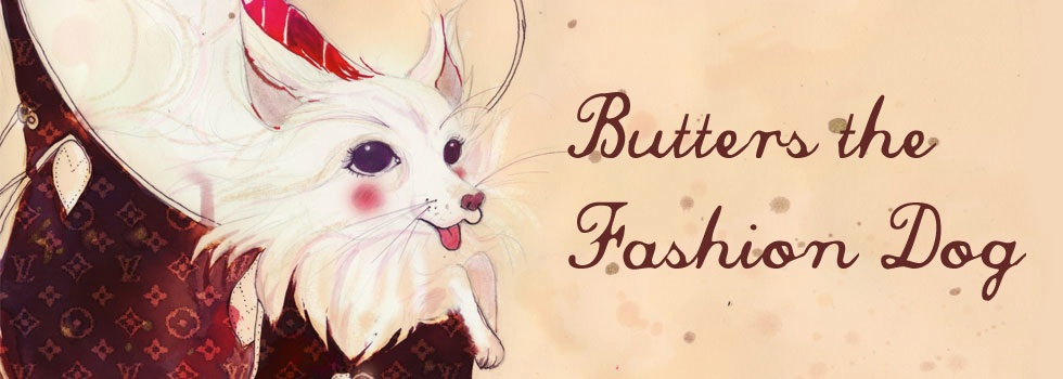 Butters the Fashion Dog