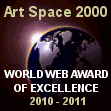 AWARDED BY ARTSPACE 2000.COM ON 26-MAR-2010