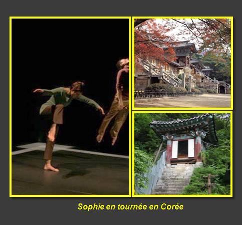 Sophie en tournée en Corée