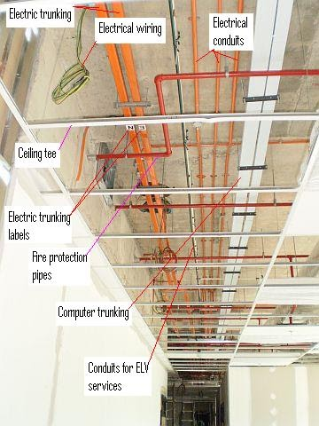 Electrical Installation Wiring Pictures Electric Trunking Installation Pictures