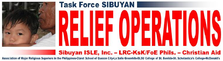 Sibuyan Relief Operation