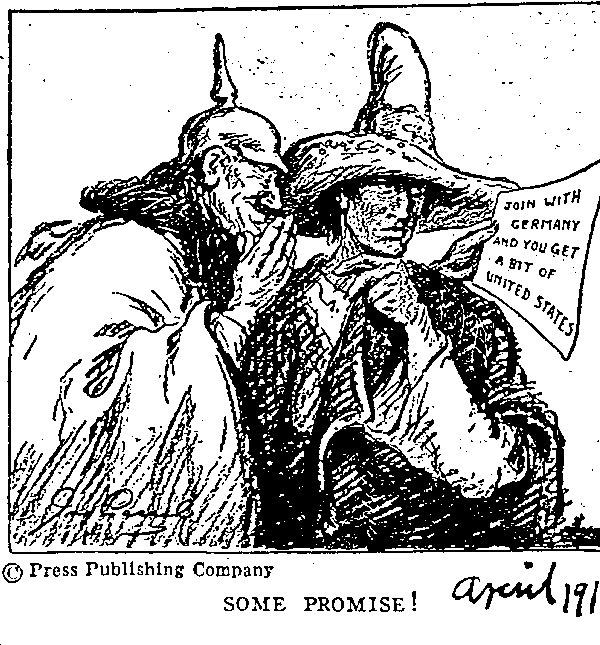thamanjimmy: History of the Zimmermann Telegram