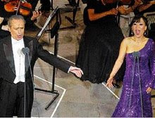 Jose Carreras and Sumi Jo in Athens