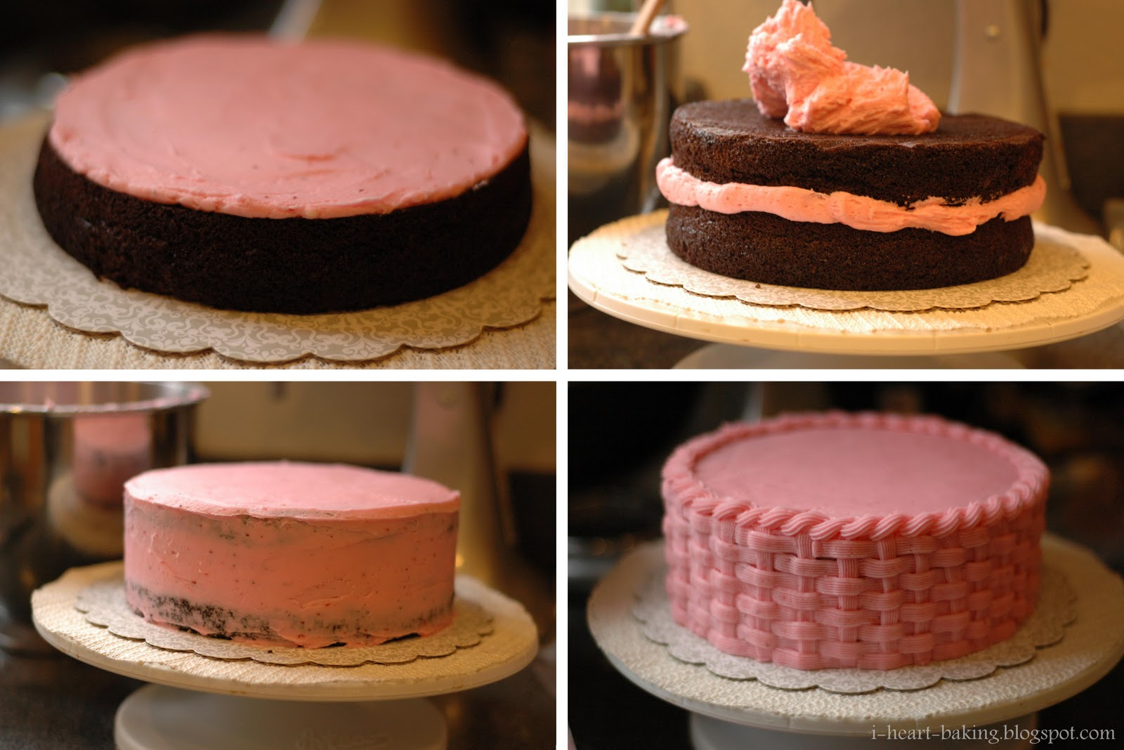 Chocolate Weaved Cake Ideas