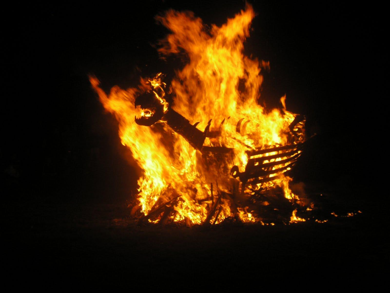 Dragons burn