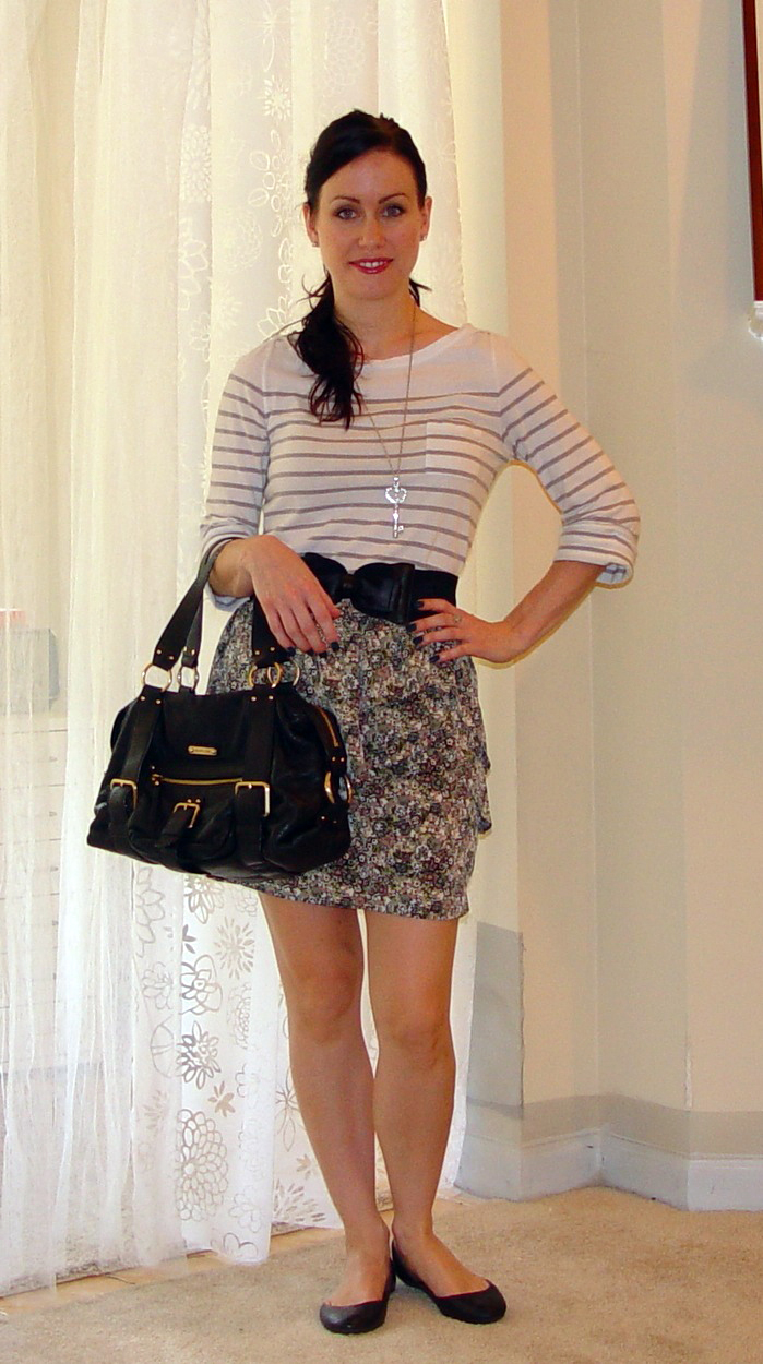 3b10ccb19 Outfit Of The Day  The Floral Skirt