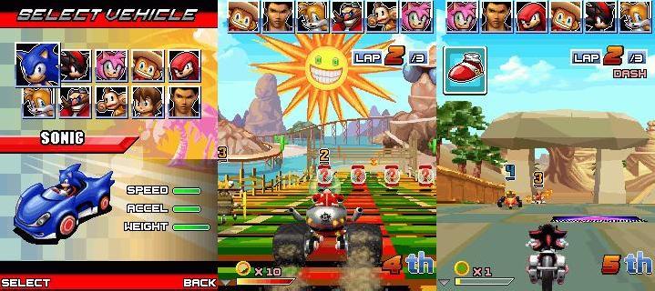 Sonic And Sega All Star Racing Free Jar Java Game