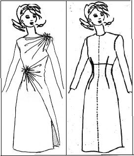Fashion Solutions: Draping a Dress from Stylometrics