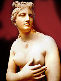 Greek goddess of love and sexuality