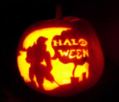 Halo-ween Pumpkin