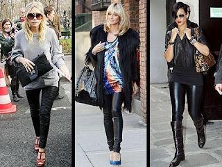 calças justas femininas