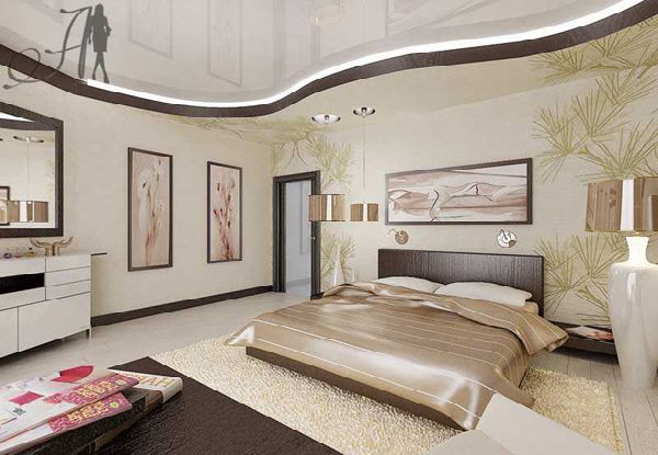 Interior And Exterior Design Luxury And Glamour Bedroom